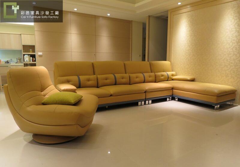 L型沙發訂做-韋伯斯004